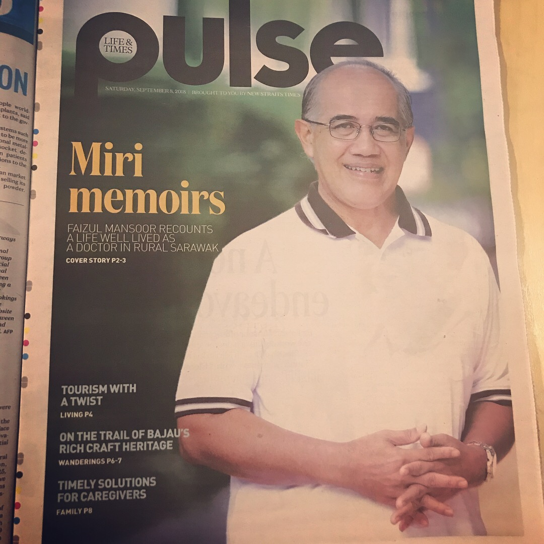 Cover Photo on NST